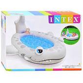 Детский надувной бассейн Акула Intex 57433 (229x226x107 см.)