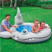 Детский надувной бассейн Акула Intex 57433