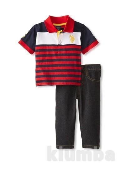 Футболка и джинсы Polo Assn фото №1