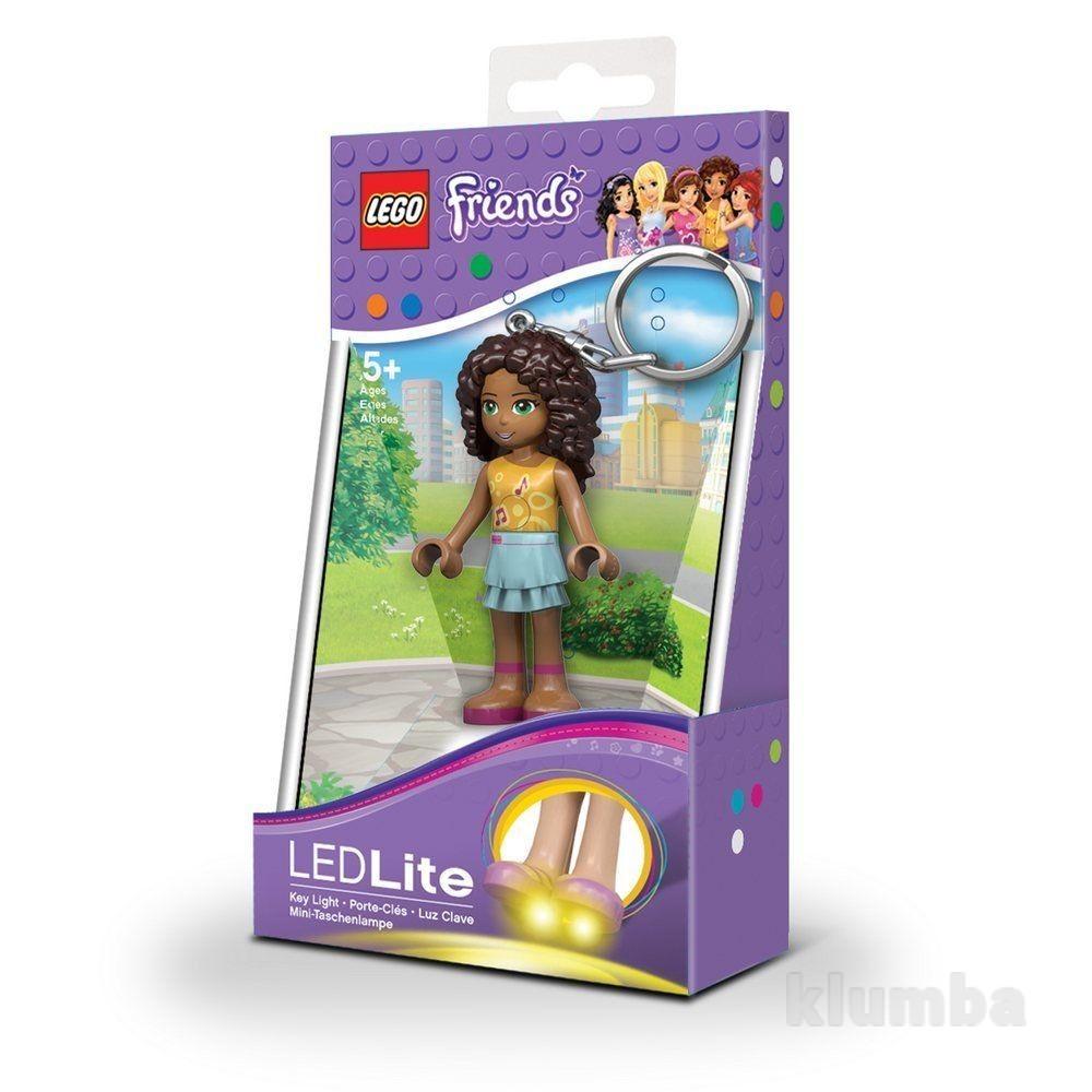 Брелок-фонарик Lego Friends. Андреа lgl-ke22 a-6-bell фото №1