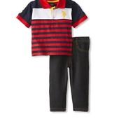 Футболка и джинсы Polo Assn