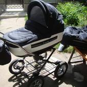 Классическая коляска Roan Marita Lux. Состояние новой