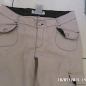літні натуральні штани 7-8розмір 103см