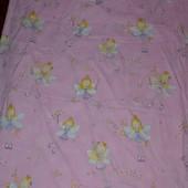 Полуторная постель постельное белье девочке Феечки