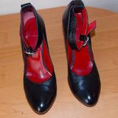 Кожаные туфли Marco Pini для девушки, размер 39-40