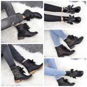 Ультрамодные ботинки с бантом 5 моделей