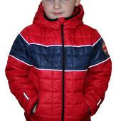 Демисезонная курточка (ветровка) для мальчика Зара - кубик
