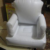 Надувное детское кресло с героями истории игрушек