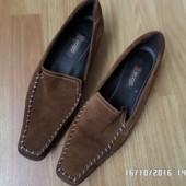 ECCO шкіряні туфлі 39р 25см