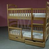 Спешите  Недельная Распродажа  Двухъярусная кровать Карина Люкс + нижние перегородки + ящики.