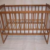 Кровать простая люлька  качалка, 120х60