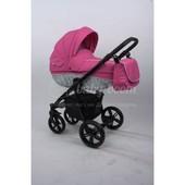 New 2015! Универсальная коляска Roan Bass, B3 pink black