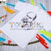 Мужская футболка с изображением Тараса Шевченко