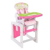 Детский стульчик для кормления Berber Tiesto HC-901-055, розовый