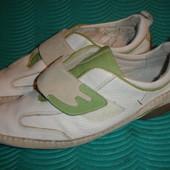 Фирменные кожаные туфли спортивного стиля
