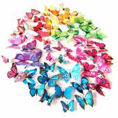 3Д наклейки стікери бабочки