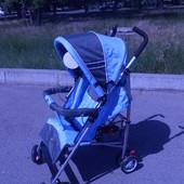 Новинка! Коляска-трость Baby Club (4 цвета красн,голуб,зелен,оранж)