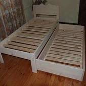 Односпальная кровать с выдвижным спальным местом