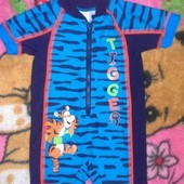 солцезащитный костюм для плаванья от Disney на 6 12 месяцев,защита от солнца UPF +40