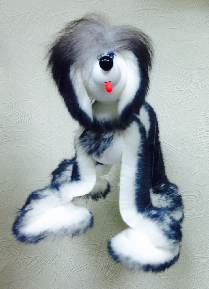 Игрушка собака марионетка. опт и розница.купить в украине марионетку фото №1