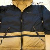 Куртка- пуховик женский двухсторонний, размер 46