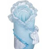 Конверт «Версаль» голубой с белым (зима), ФР-00001299