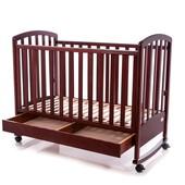 Детская кроватка Baby Care BC-470bc темная орех