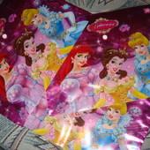 Папка Принцессы для тетрадей листов для творчества мягкий пластик на кнопке