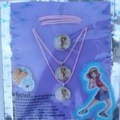 Детская бижутерия колечки, цепочки