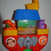 Развивающая игрушка для игры в ванной Лодочка
