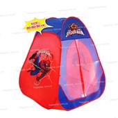 Детская игровая палатка «Spider-men» (Человек паук)