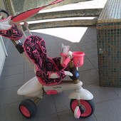 велосипед трехколесный smart trike dream с родительской ручкой