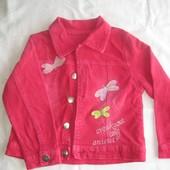 Вельветовый пиджак  на 3 года