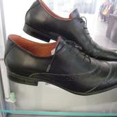 Удобные кожаные туфли в наличии