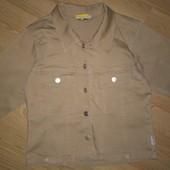 Пиджак для девочки на рост 128-134 см