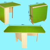 Стол пенал трансформер зеленый