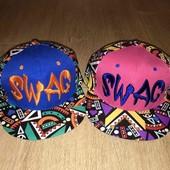 распродажа кепки SWAG супер качество яркие цвета