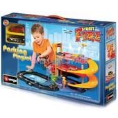 Игровой набор - Гараж Bburago (3 уровня, 2 машинки 1:43) акция