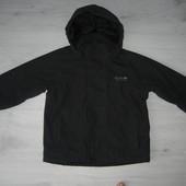 Куртка дождевик Regatta на флисе 116 рост 5-6 лет