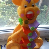 Веселый жирафик  Kiddieland  свет, звук .