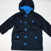 Ветровка куртка дождевик подкладка х/б на 12-18 месяцев