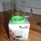 Горнятка (Кружка) Скляні з прорезиновим дном Нові