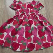 Клубничное платье от Crazy8 2Т