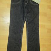 Новые мужские джинсы, р.W28,L34, 100% котон, прямые, смотрите замеры: