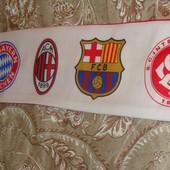 Фірмовий футбольний шарф.