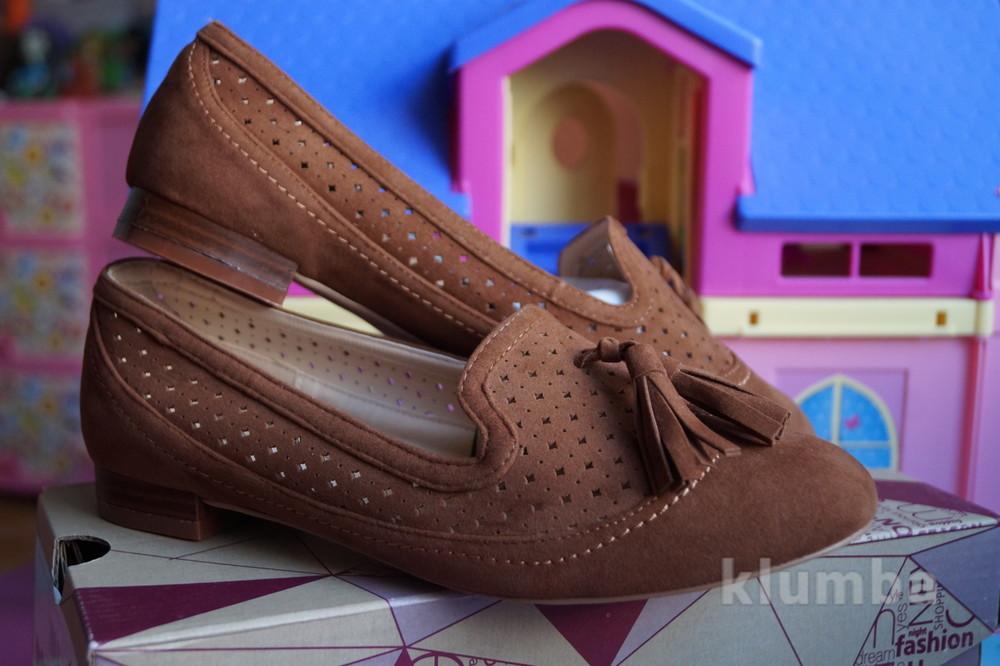 Туфли новые женские светло-коричневые размер 36, 37, 38, 39, 40 фото №1