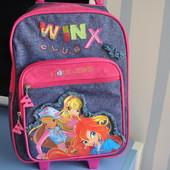 Очень красивый чемодан рюкзак Winx club