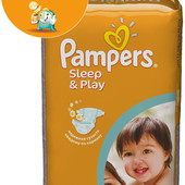 Pampers Sleep & Play 4 68 шт.,5 58 шт. Helen Harper 210 грн