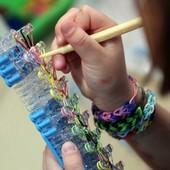 Станок усиленный оригинальный для плетения браслетов из резинок Rainbow Loom bands