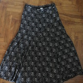 Длинная юбка в крапинки
